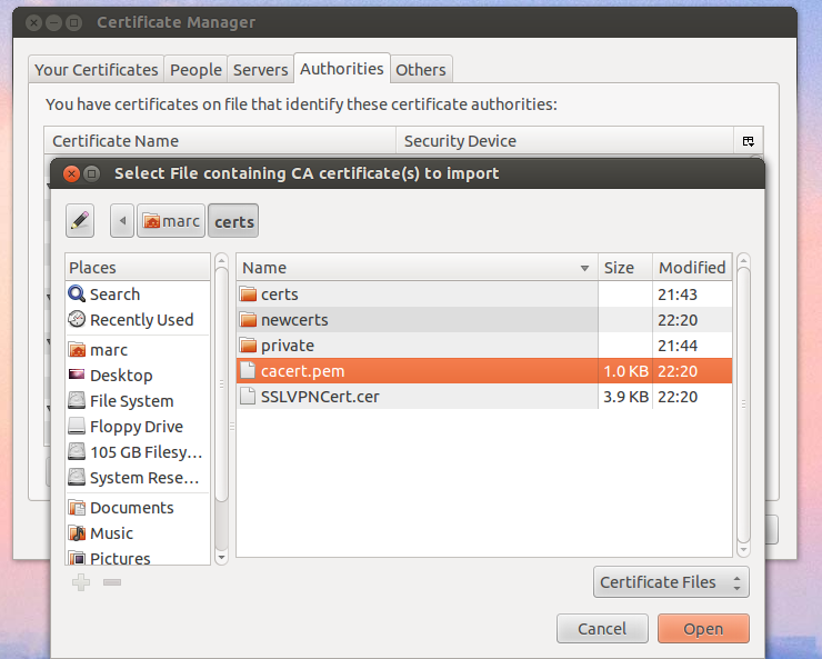 Fortigate Create Your Own Ca To Sign Certificates Using Openssl