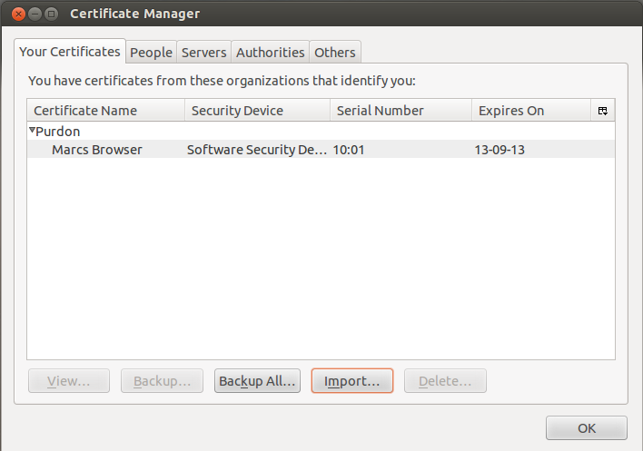 Fortigate – Create your own CA to sign certificates using OpenSSL